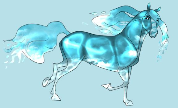 Water Horse by dyb
