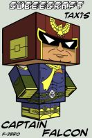 Cubee - Captain Falcon by TaxisFlashDude