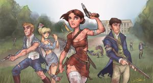 Pride and Prejudice and Zombies by DaveJorel
