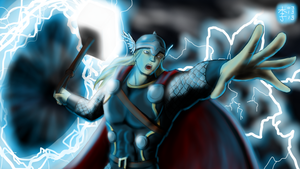 The Mighty Thor by ElPanachino