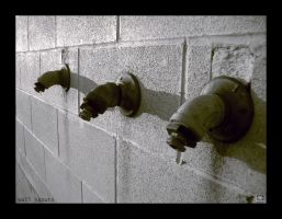 Wall Spouts by TheDarkWhisperer