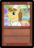 MLP-MTG: Pony Joe by Shirlendra