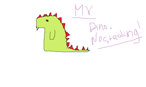 my dino XD :3 by Soulver