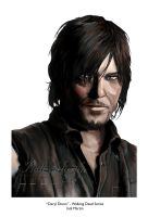 Daryl Dixon - Walking Dead Series by indigowarrior