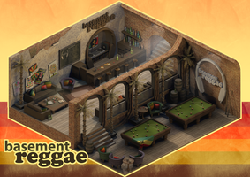 Isometric Reggae Bar + Lounge by JGrainger