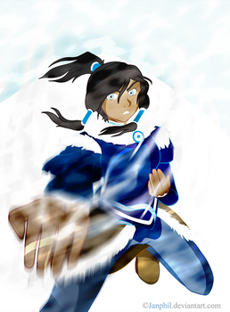 Korra - The Blizzard by Janphil