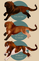 Fall Manticore Adoptables - Open by Umbrafen