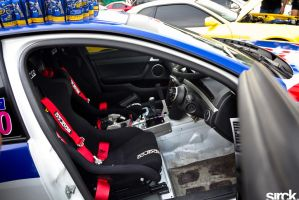 The Cockpit of a VE Drift Ute by small-sk8er