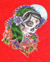 gypsy day of the dead by Drewgovan