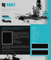 Dj blog theme by mece888
