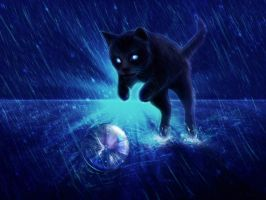 Playing Under The Rain by Halli-well