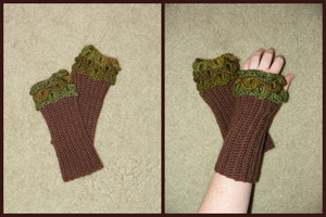 Tree Armwarmers by SparklyStash
