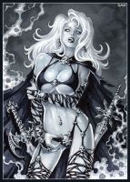 -Lady Death- by Candra
