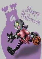 Happy Halloween by anapeig