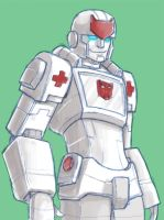Cybertron Ratchet by batchix
