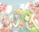 Spring - Vocaloid by EryenArt