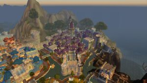 Stormwind city by death-note-boy