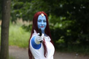 Mystique at Finncon 2011 by AkaiBakemono