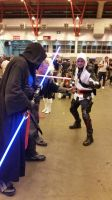 assassin and jedi by marty0x