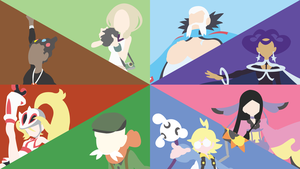 Kalos Gym Leaders by DashingHero