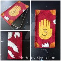 Gravity Falls Journal 3 [Phone Cover] by Teti2000