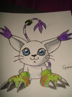 Gatomon by iWildBlood