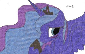 Again Another Luna by Kage Torino by KageTorino