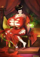 Chinese Queen BE Clothes Ripping by expansion-fan-comics
