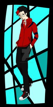 Me in Persona (FullBody) by Lionheart2477