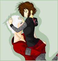 L4D - Diana And Damien by ShadowInkAdopts