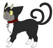 -Request-  Blacky by Mystical-Kitsune