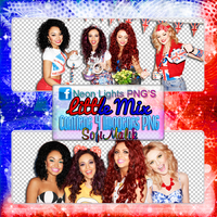 Little Mix Shoot - Neon Lights PNG'S by SoffMalik