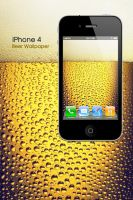 iPhone 4 Beer Wallpaper by Martz90