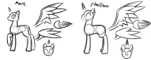 MLP Forms side-by-side by EROCKERTORRES