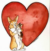 Welsh Corgi Mother's Day 2007 by Ashwin24