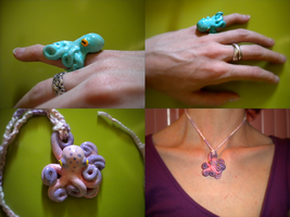 Octo jewelry by papersouls
