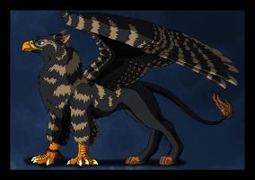 Tefra the Gryphon by WhitePhoenix7