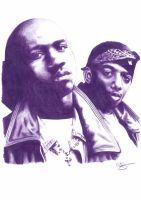 Mobb Deep Pencil Sketch by DJMark563