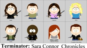 Sarah Connor meets South Park by animemoon7