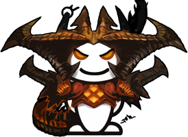 Diablo 3 Reddit Snoo by Inkfired