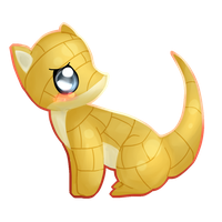 Sandshrew - 27 by Kiytt