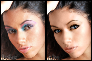 Retouch 2 : A little less dramatic by kswanson