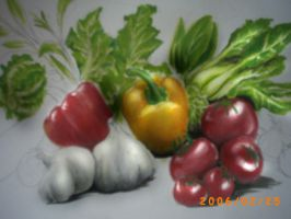 Vege Painting Unfinished by Maxor-GWD
