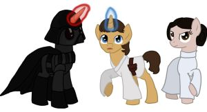 Star Wars ponies part VI by Qemma