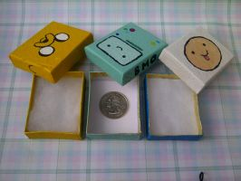 Custom Adventure Time Jewelry Boxes by ChloeyLovesLlamas