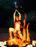 Red Sonja - Hell Fire by Vad-mig-orolig