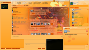 Applejack Steam Skin v1.3 by RevolutionGG