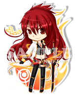 [Elsword] Elesis Blazing Heart SD.ver by noirjung