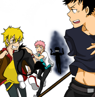 Ao no Exorcist - Kidnap bros by xShieru