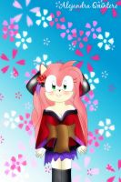 Amy rose  luka by AlejandraQuintero